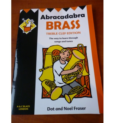 Abracadabra Brass: Treble Clef Edition. Sheet Music for Brass Instruments