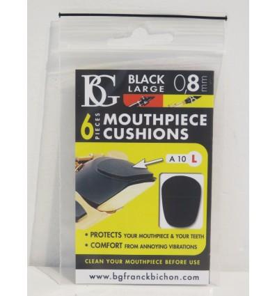 BG Franck Bichon A10L Black Large Mouthpiece Patches - 0.8mm – New