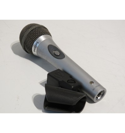 Philips SBC-MD650 Dynamic Switch Vocal Microphone - XLR