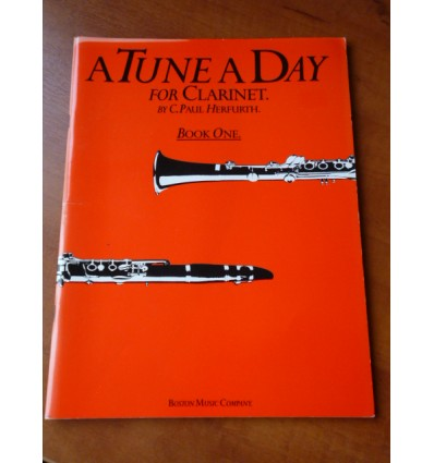 A Tune a Day for Clarinet Book One