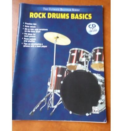 Ultimate Beginner Rock Drums Basics Book & CD
