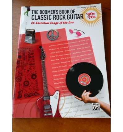 The Boomer's Book of Classic Rock Guitar - '60s - '70s: 66 Essential Songs of the Era Paperback