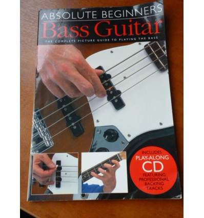 Absolute Beginners Bass Guitar (Book & CD) Paperback