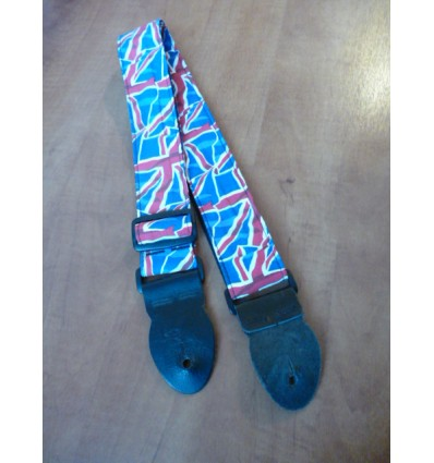 Leathergraft LG Union Jack Flag Guitar Strap