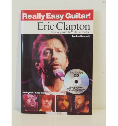 Really Easy Guitar Eric Clapton Book & CD