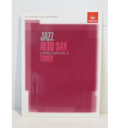 Jazz Alto Sax Level/Grade 2 Tunes Paperback & CD