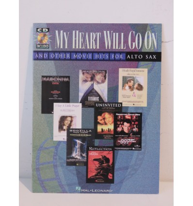 My Heart Will Go On And Other Movie Hits (Alto Sax)