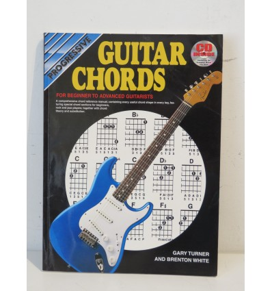 Progressive Guitar Chords: For Beginner To Advanced Guitaris Book & CD