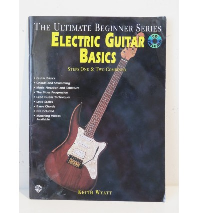 Ultimate Beginner: Electric Guitar Basics - Steps 1 And 2 Book & CD