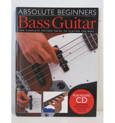 Absolute Beginners Bass Guitar Book & CD