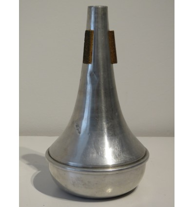Denis Wick Aluminium Trombone Mute - No Label or Manufacturers Markings