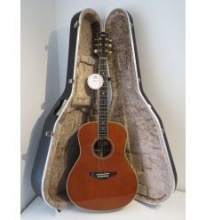 Yamaha LA-8 Acoustic Folk Guitar with Hiscox Hard Case – Stunning