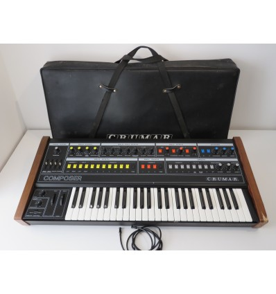 Vintage Crumar Composer Synth Super Rare Analog 49 Key Synthesizer
