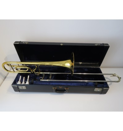 King 4B Sonorous Trombone with F Attachment, 3 x Mouthpieces & Case