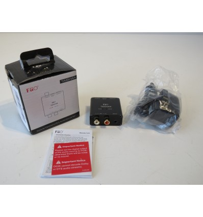 FiiO Taishan D03K Digital and Analog Audio Decoder (Coaxial, Optical) New in