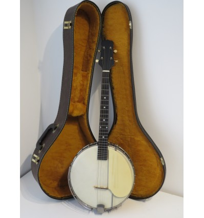 c. 1919 Gibson The Tenor Short Scale 4 String Banjo - Excellent Example