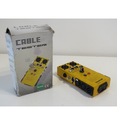 Sound Lab G027EB Ultimate Cable Tester including USB & RJ45 Tests
