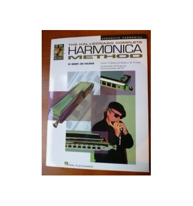 The Hal Leonard Complete Harmonica Method Book & CD
