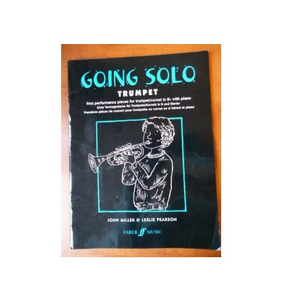 Going Solo Trumpet : First Performance Pieces