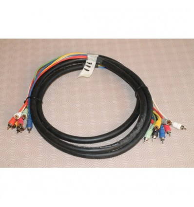 8 Channel RCA – RCA Studio Snake Cable 3m/10'