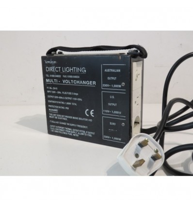 "Multi Volt Changer supplied by ""Direct Lighting"""